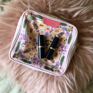 Estēe Lauder Lipstick 2-pack w/ FREE Makeup Bag